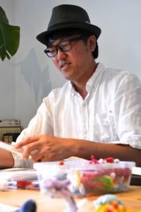 Kitanaka-san's home studio