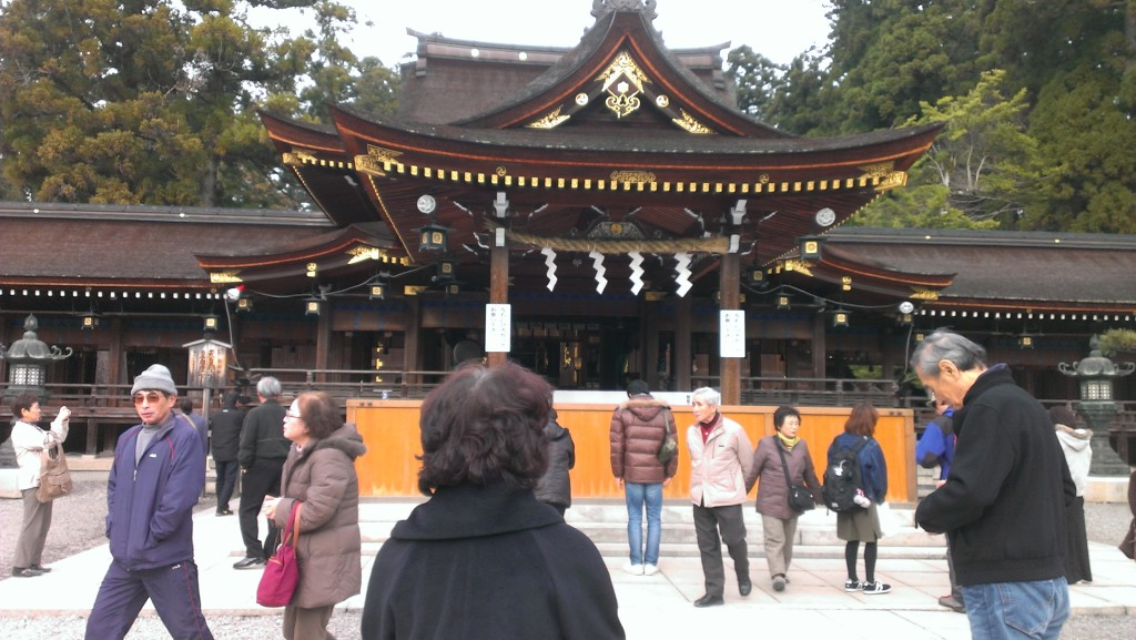 Taga Taisha main hall